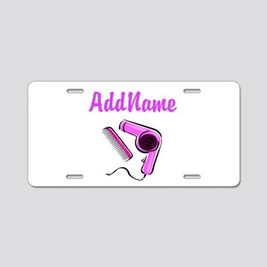 BEST HAIR STYLIST Aluminum License Plate